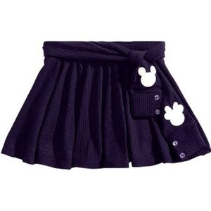Disney Girls 3T Ribbed Mickey Minnie Mouse Skirt